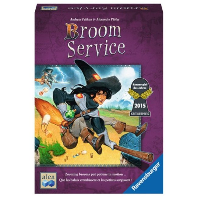 Ravensburger Broom Service [Multi]