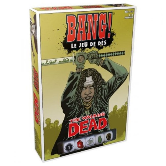Asmodee Bang! - The Walking Dead - le jeu de dés [French]