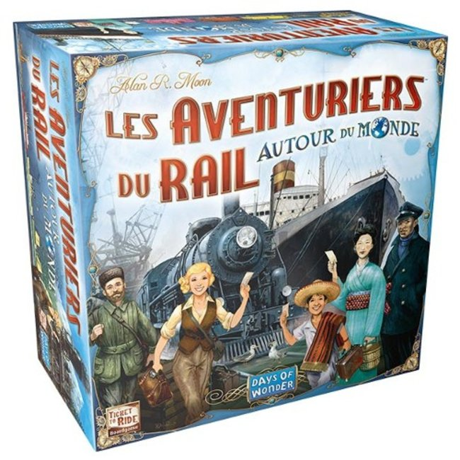 Days of Wonder Aventuriers du rail (les) - Autour du Monde [French]