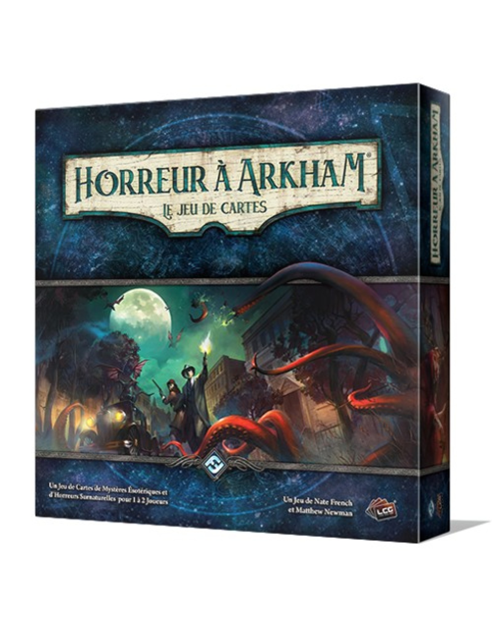 Fantasy Flight Games Horreur à Arkham - le jeu de cartes (JCE) [français]