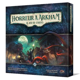 Fantasy Flight Games Horreur à Arkham - le jeu de cartes (JCE) [French]