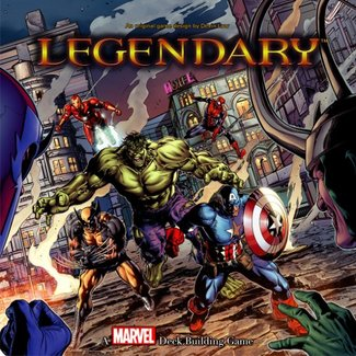Upper Deck Marvel - Legendary [anglais]