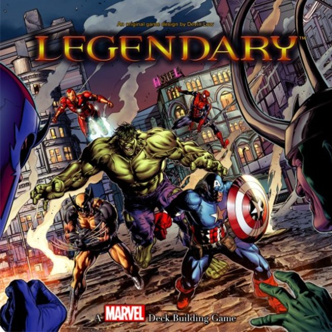 Upper Deck Marvel - Legendary [English]