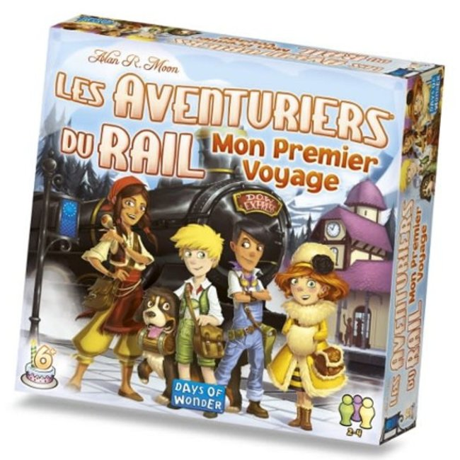 Days of Wonder Aventuriers du rail (les) - Mon premier voyage - Europe [French]