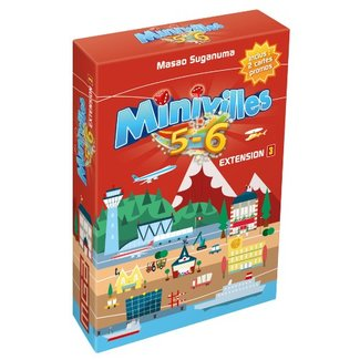 Moonster Games Minivilles : 5 - 6 joueurs - Extension 3 [French]