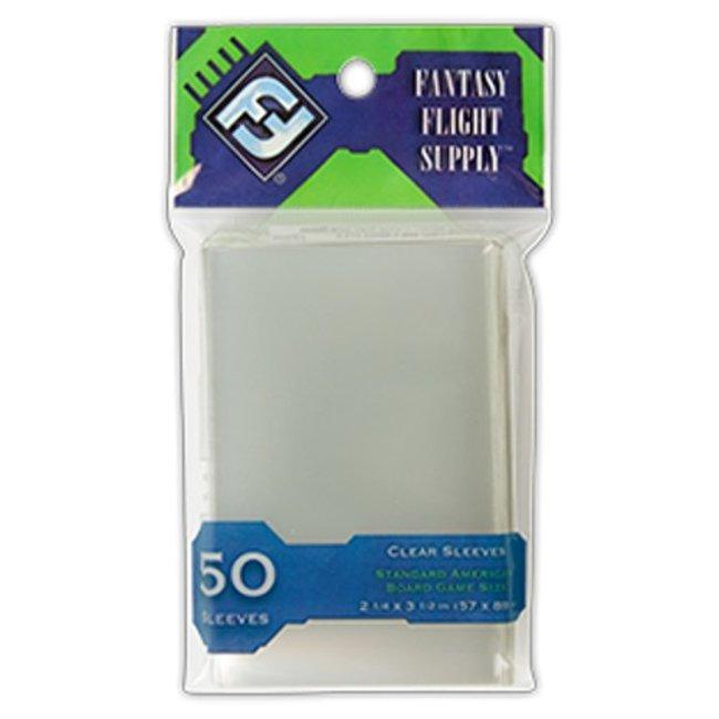 Fantasy Flight Games Card sleeves (57mm x 89mm) - 50 pack [FFS03]