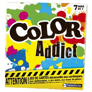 France Cartes Color Addict [French]