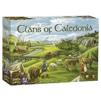 Pixie Games Clans of Caledonia [français]