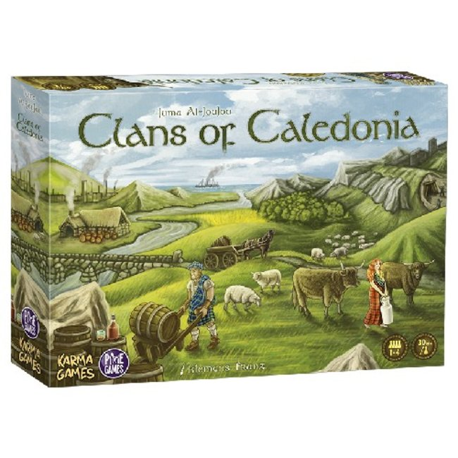 Pixie Games Clans of Caledonia [French]