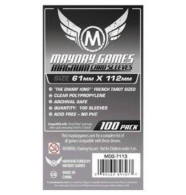 Mayday Games Protecteurs de cartes (61mm x 112mm) - Paquet de 100 [MDG-7113]