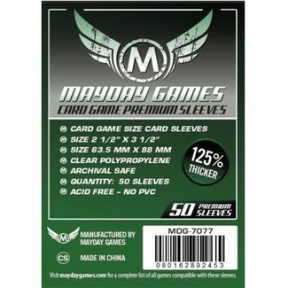 Mayday Games Card sleeves (63.5mm x 88mm) - 50 pack [MDG-7077]