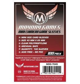 Mayday Games Protecteurs de cartes (43mm x 65mm) - Paquet de 100 [MDG-7045]
