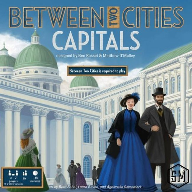 Stonemaier Games Between Two Cities : Capitals [anglais]