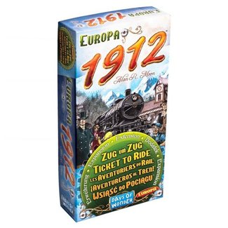 Days of Wonder Aventuriers du rail (les) : Europa 1912 [Multi]