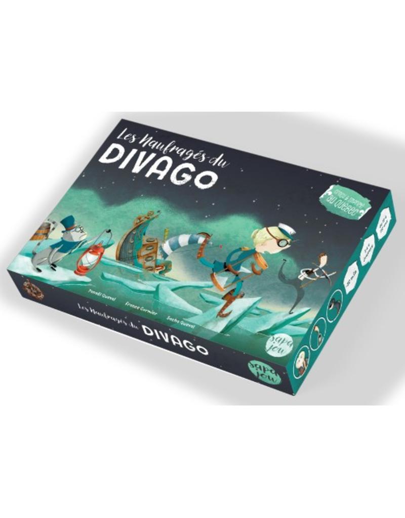 Primate à bord Naufragés du Divago (les) [français]