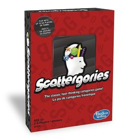 Hasbro Games Scattergories [multilingue]