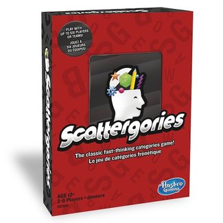 Hasbro Games Scattergories [Multi]