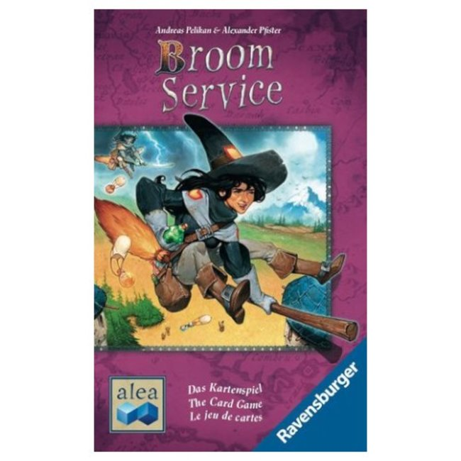 Ravensburger Broom Service - le jeu de cartes [Multi]