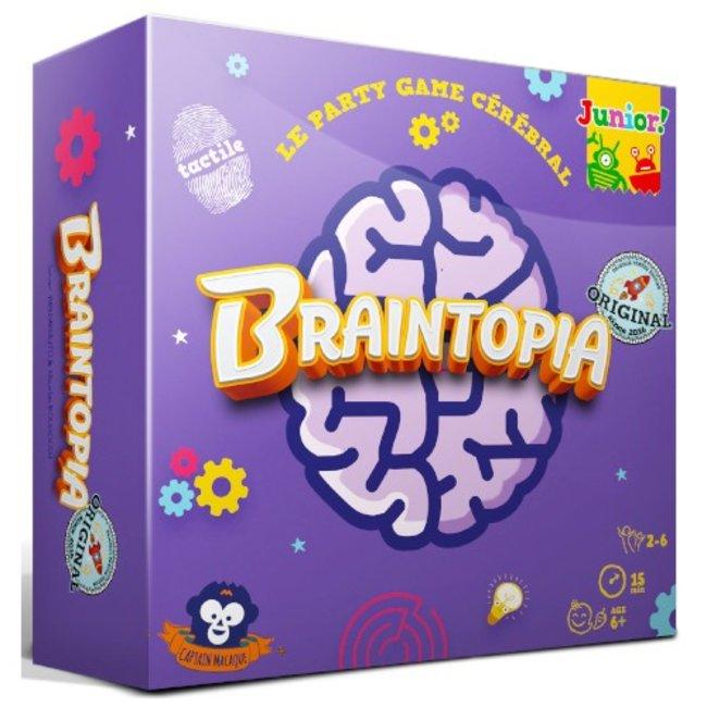 Captain Macaque Braintopia - Junior [français]