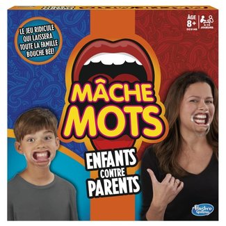 Hasbro Games Mâche-Mots - Enfants contre parents [French]