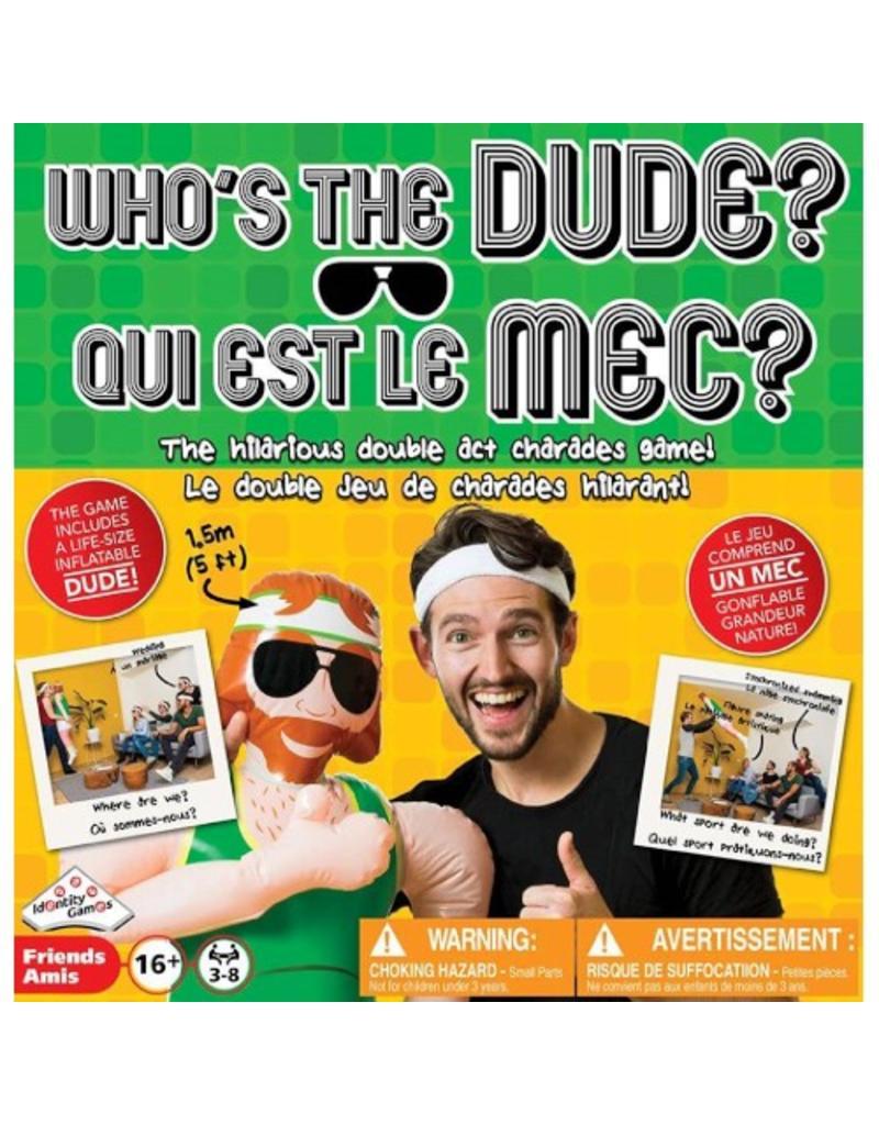 Identity Games International Qui est le mec ? (Who's the Dude ?) [multilingue]