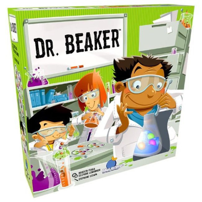 Blue Orange Dr Beaker [multilingue]