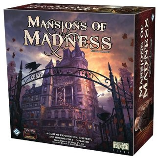Fantasy Flight Games Mansions of Madness (2nd edition) [English]