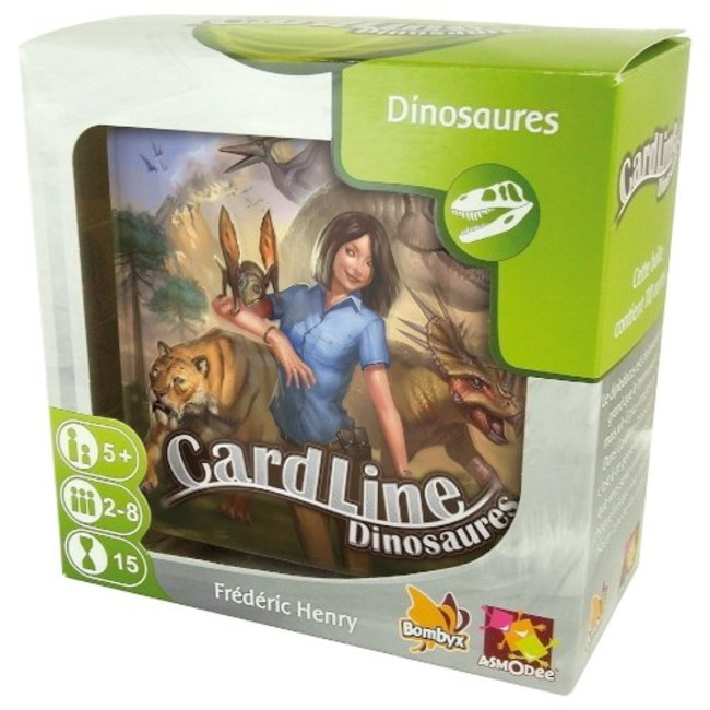 Asmodee Cardline - Dinosaures [French]