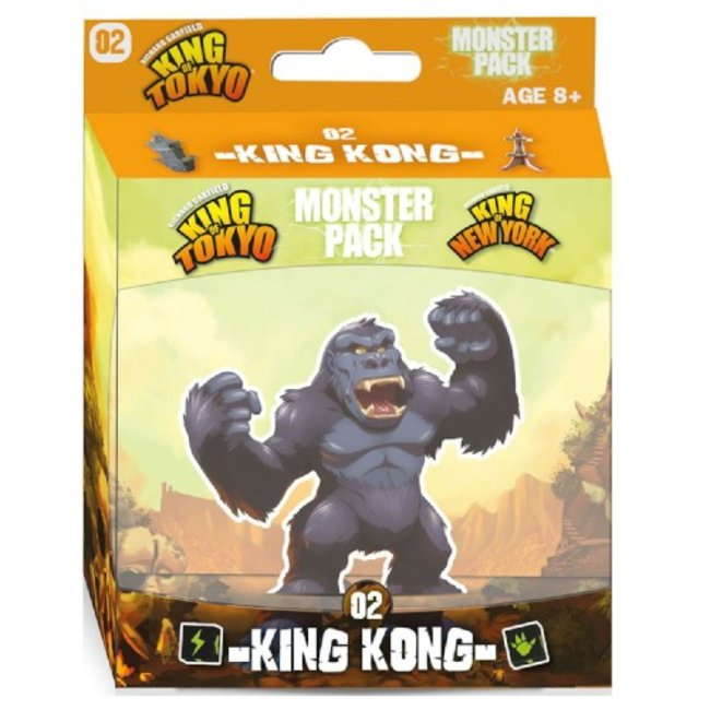 Iello King of Tokyo : Monster Pack - King Kong [French]