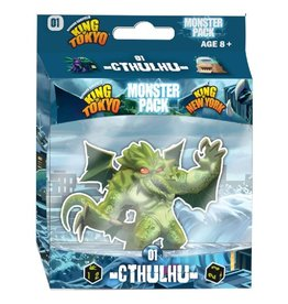 Iello King of Tokyo : Monster Pack - Cthulhu [français]