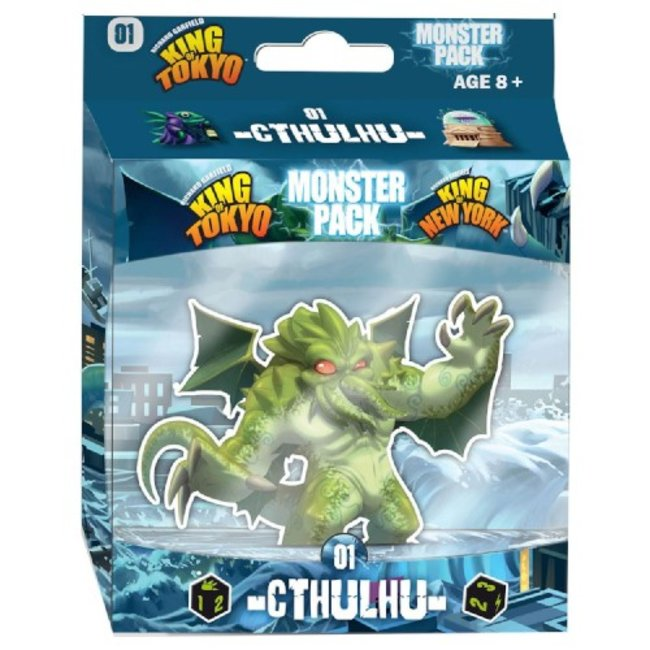 Iello King of Tokyo : Monster Pack - Cthulhu [French]