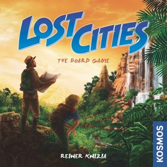 Kosmos Lost Cities - The Board Game [anglais]