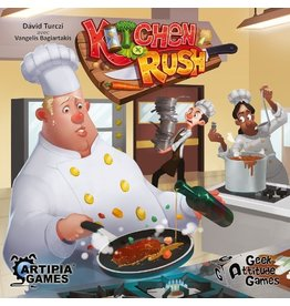 Geek Attitude Games Kitchen Rush [français]