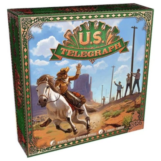 Super Meeple U.S. Telegraph [French]