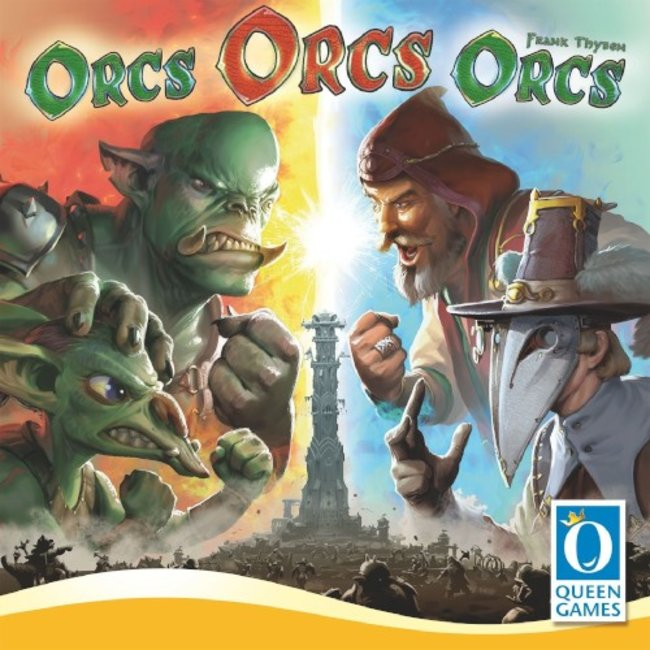 Queen Games Orcs Orcs Orcs [Multi]