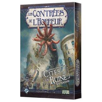 Fantasy Flight Games Contrées de l'horreur (les) : Cités en ruine [French]
