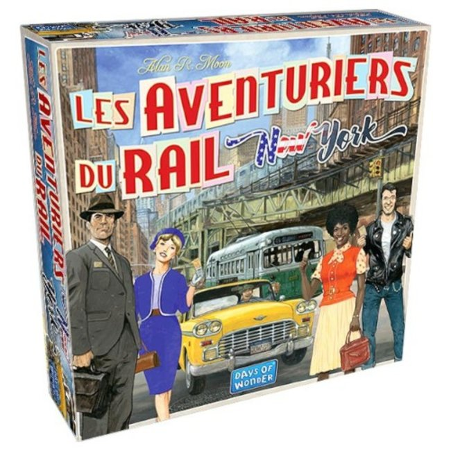 Days of Wonder Aventuriers du rail (les) - New York [French]