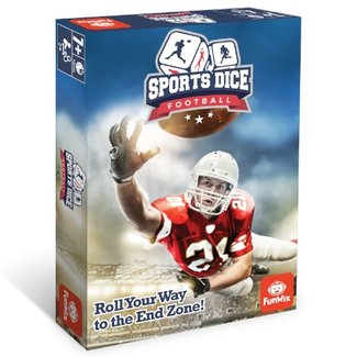 FunWiz Sports Dice - Football [Multi]