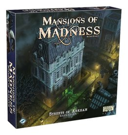 Fantasy Flight Games Mansions of Madness (2nd edition) : Streets of Arkham [anglais]