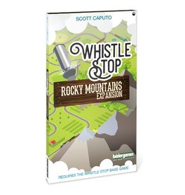 Bézier Games Whistle Stop : Rocky Mountains [anglais]