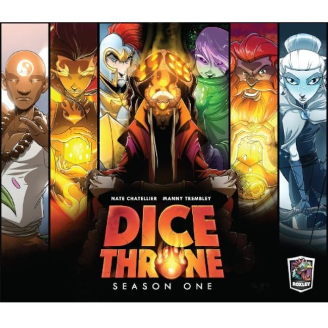 Roxley Games Dice Throne - Season One [English]