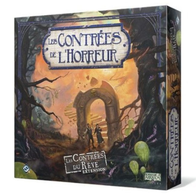 Fantasy Flight Games Contrées de l'horreur (les) : Les Contrées du rêve [French]