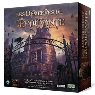 Fantasy Flight Games Demeures de l'épouvante (les) (seconde édition) [French]
