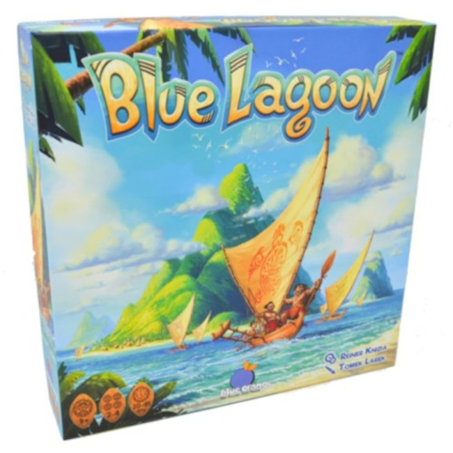 Blue Orange Blue Lagoon [French]