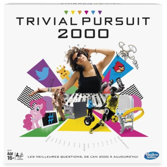 Hasbro Games Trivial Pursuit 2000 [French]