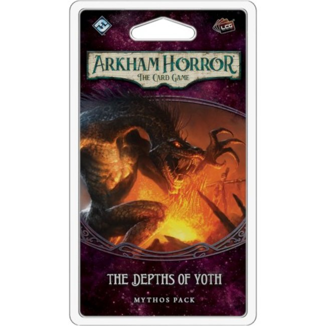 Fantasy Flight Games Arkham Horror - The Card Game (LCG) : The Depths of Yoth [English]