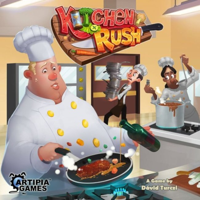 Artipia Games Kitchen Rush [anglais]