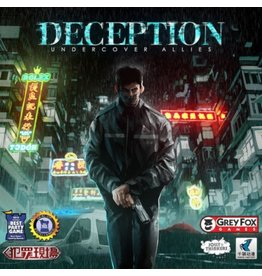Grey Fox Games Deception : Undercover Allies [anglais]