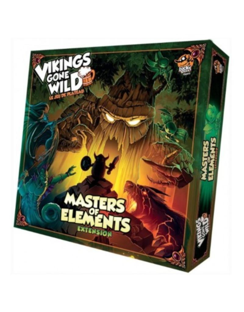 Lucky Duck Games Vikings Gone Wild : Masters of Elements [français]