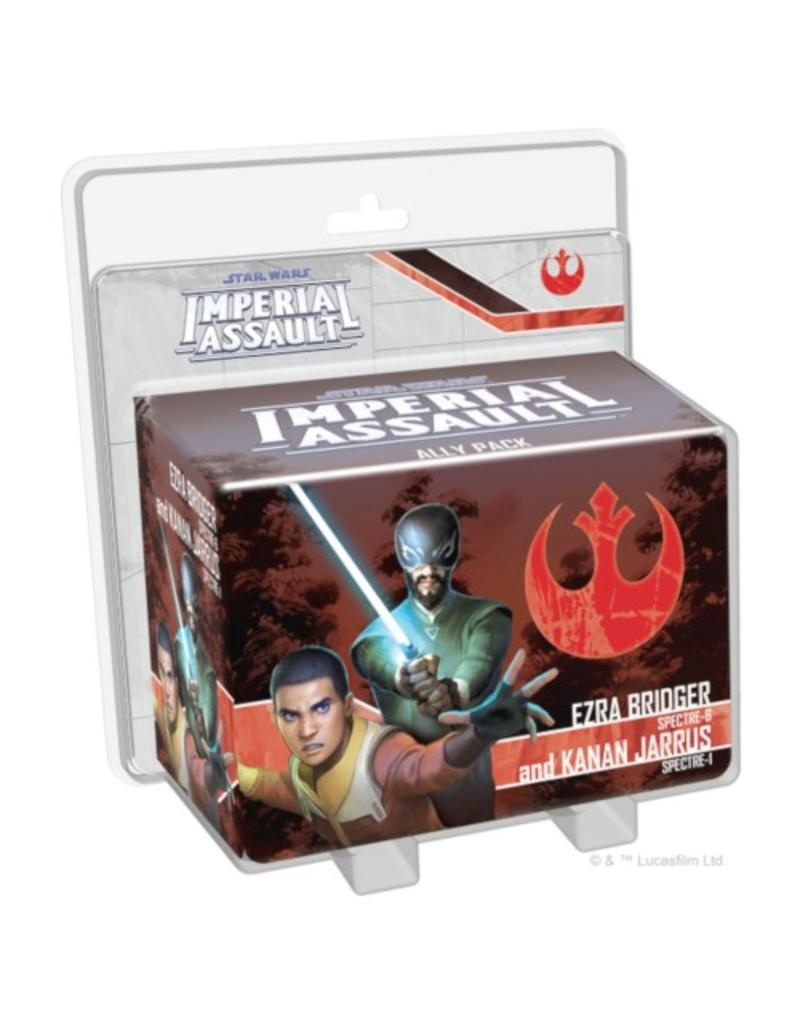 Fantasy Flight Games Star Wars - Imperial Assault : Ezra Bridger and Kanan Jarrus [anglais]